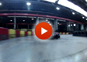 a racing lap at Teamworks Karting Birmingham
