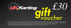 UK Go Karting £30 Gift Voucher